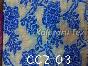 CCZ 03 Chanderi Jacquard Fabric