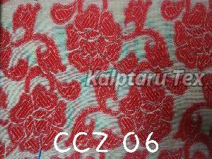 CCZ 06 Chanderi Jacquard Fabric