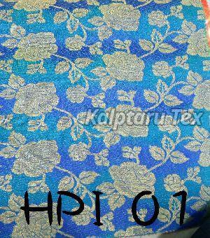 HPI 01 Ikkat 3D Jacquard Fabric