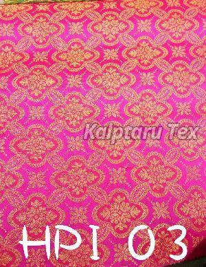 HPI 03 Ikkat 3D Jacquard Fabric