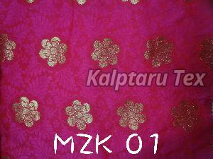 MZK 01  Makhmali Jacquard Fabric