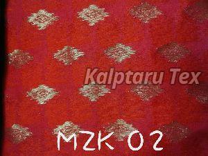 MZK 02  Makhmali Jacquard Fabri