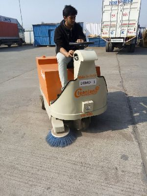 Battery Operated Sweeping Machine for Street