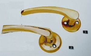 Golden Rose Lever Handle 05