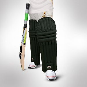 Black Cricket Batting Pads