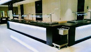 Drop in Type Bain Marie Counter
