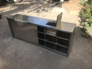 Stainless Steel Cross Over Bench