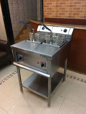 Stainless Steel Twin Tank Deep Fat Fryer
