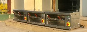 Stainless Steel Salamander Machine
