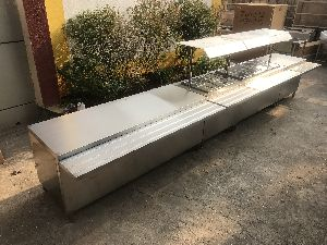 Stainless Steel Bain Marie Neutral Counter