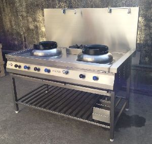 Stainless Steel Chinese Gas Stove 03