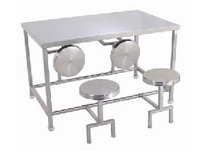 Stainless Steel Dinning Table 01
