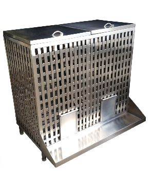 Stainless Steel Onion Potato Bin 01