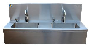 Stainless Steel Sensor Opeated Hand Wash Sink
