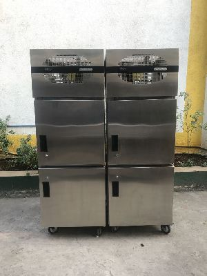 Stainless Steel Vertical Refrigerator