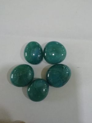 Opal Round Glass Pebbles 15