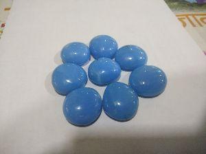 Opal round shape glass pebbles 07