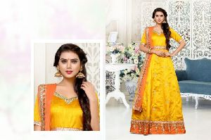 26114 Zaynah Semi Stitched Suit