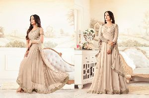 26308 Trendy Semi Stitched Suit