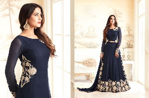 26309 Trendy Semi Stitched Suit