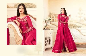 26310 Trendy Semi Stitched Suit