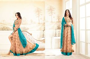 26311 Trendy Semi Stitched Suit