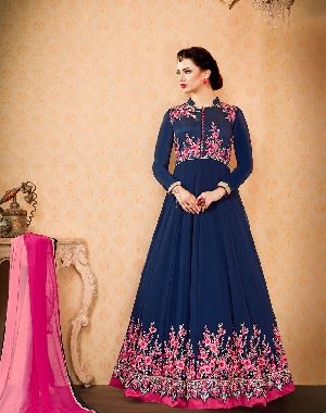26569 Thankar Semi Stitched Suit