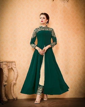 26571 Thankar Semi Stitched Suit