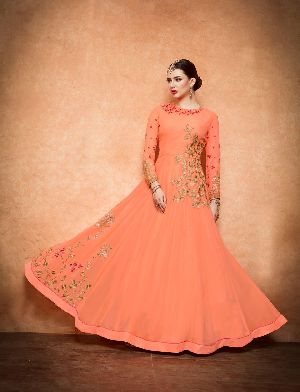 26573 Thankar Semi Stitched Suit