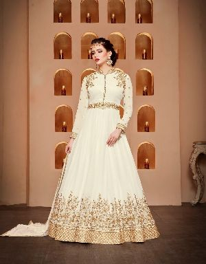 26574 Thankar Semi Stitched Suit