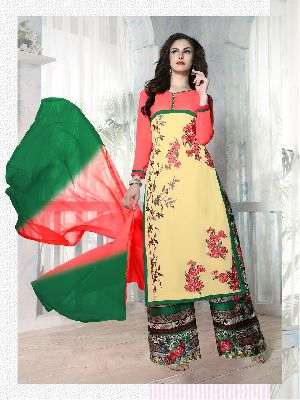27595 Zaira Semi Stitched Suit