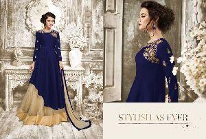 27785 Charmi Gold Designer Suit