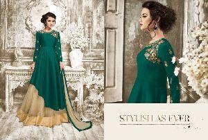 27787 Charmi Gold Designer Suit