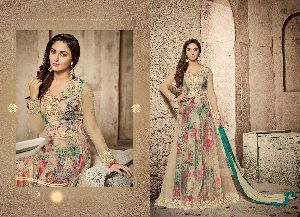 28935 Winsome Crystal Semi Stitched Suit