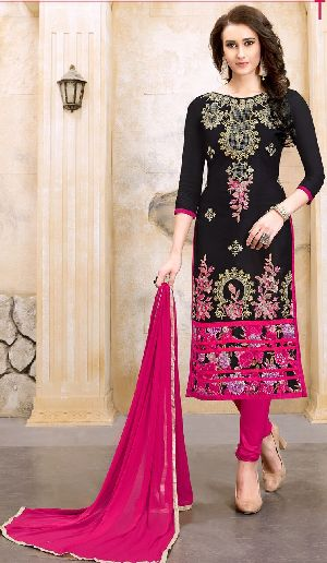 29460 Silvina Semi Stitched Suit