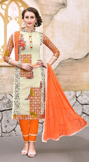 29463 Silvina Semi Stitched Suit