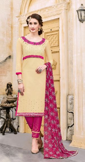 29465 Silvina Semi Stitched Suit