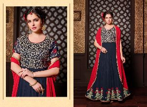 30897 Krishna Anarkali Suit