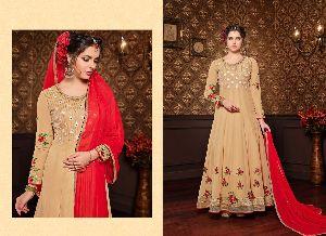 30898 Krishna Anarkali Suit