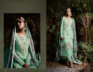31152 Taj Maria Semi Stitched Suit