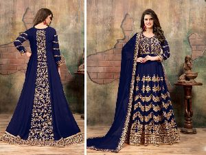 31682 Vishakha Semi Stitched Suit