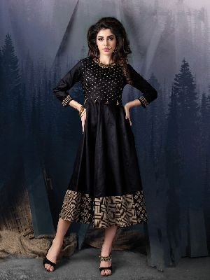 Black Beauty Kurtis