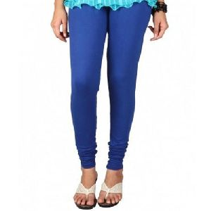 Royal Blue Churidar Leggings