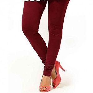 Maroon Churidar Leggings