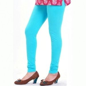 Sky Blue Churidar Leggings