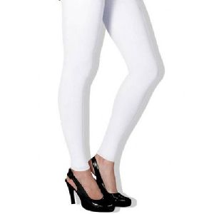 White Straight Fit Leggings