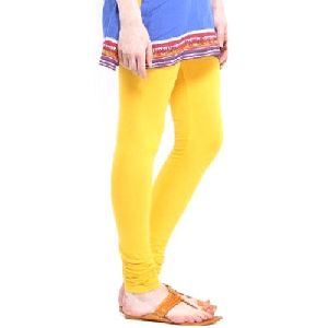 Yellow Churidar Leggings