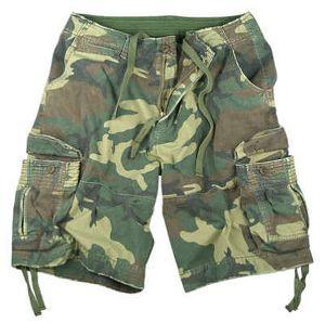 FS-2307 Camouflage Shorts