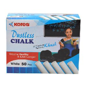 dustless white chalk