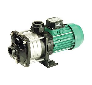 Glandless circulation pump